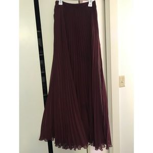 Long formal/ prom skirt